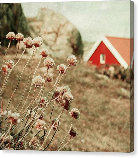 Cozily Bundled Canvas Print