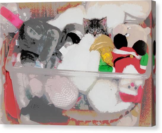 Cozy Camoflage  Canvas Print