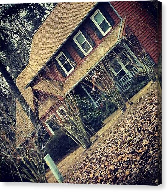 South Carolina Canvas Print - Cozy Home by Ashley Woods