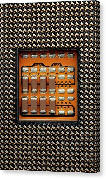 Computer Science Canvas Print - Cpu Socket by Antonio Romero