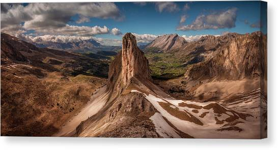 Mountain Ranges Canvas Print - Craate D'ane by Arzur Michael