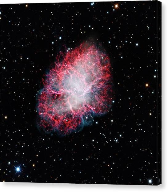 Pulsar Canvas Print - Crab Nebula by Adam Block/mount Lemmon Skycenter/university Of Arizona