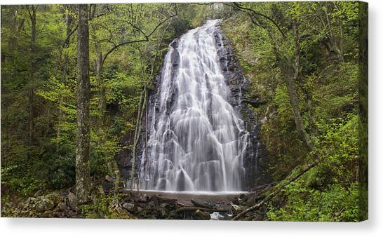 Crabtree Falls Panorama Canvas Print