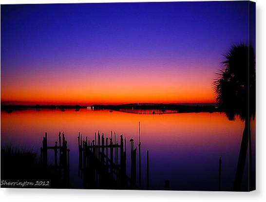 Crack Of Dawn Canvas Print