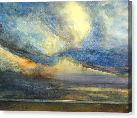 Crack The Sky IIi Canvas Print