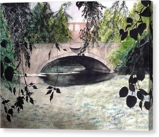 Craddock Bridge Down Under Canvas Print