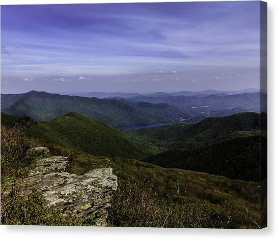 Craggy Mountains Canvas Print