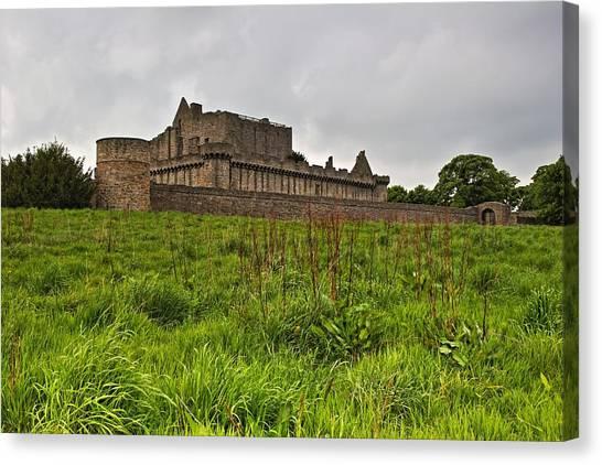 Craigmillar Castle Canvas Print