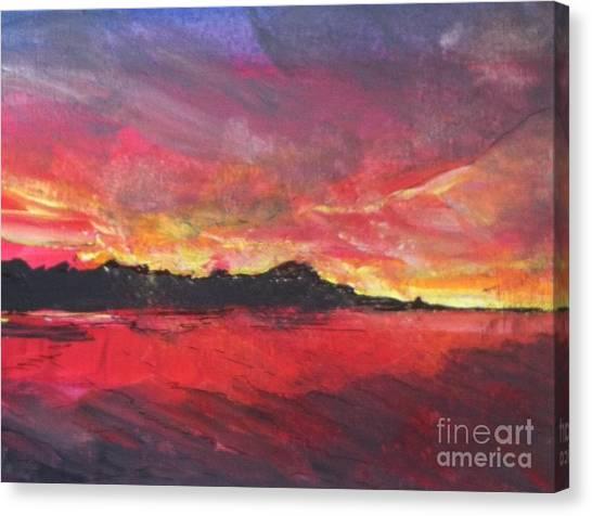 Cranes Beach Sunset Canvas Print