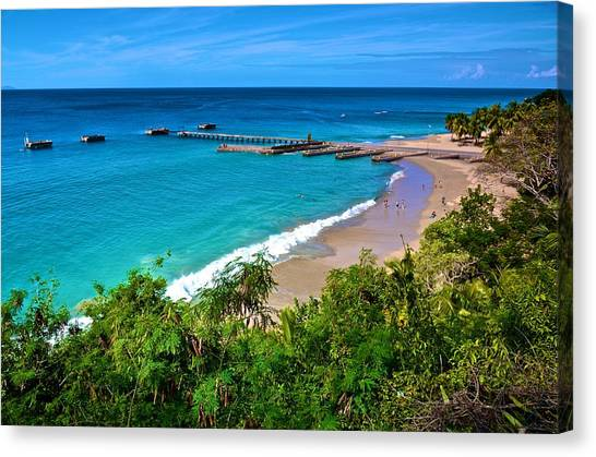 Crash Boat Beach 1 Canvas Print