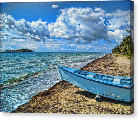 Crash Boat Canvas Print