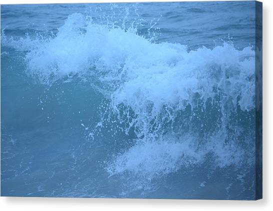 Crashing Wave Canvas Print by Kiros Berhane