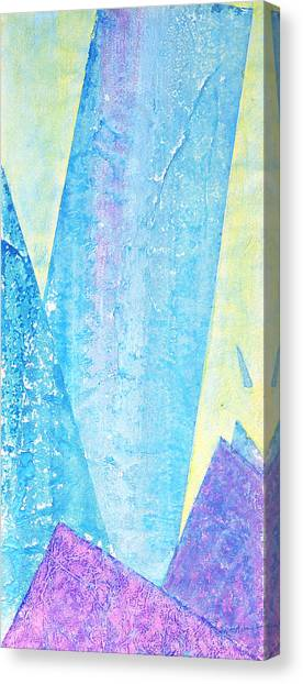 Crashing Waves And Rocks Canvas Print