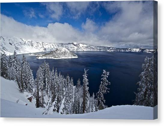 Crater Lake 040913a Canvas Print