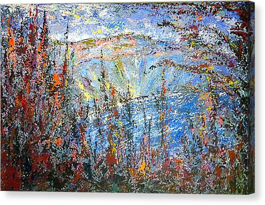 Crater Lake - 1997 Canvas Print