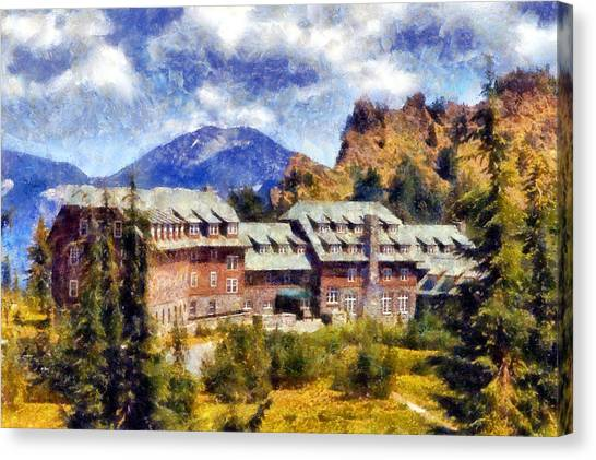 Crater Lake Lodge Canvas Print