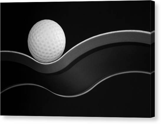 Balls Canvas Print - Craters And Curves by Jacqueline Hammer