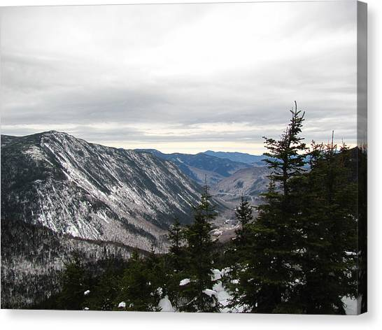 Crawford Notch Canvas Print