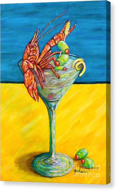 Crawtini Canvas Print