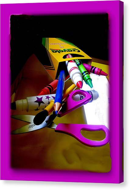 Crayola Factory Easton Pa Canvas Print by Jacqueline M Lewis