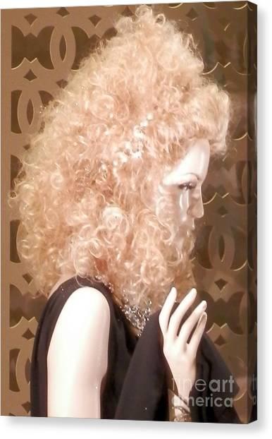 Crazy Curls Canvas Print