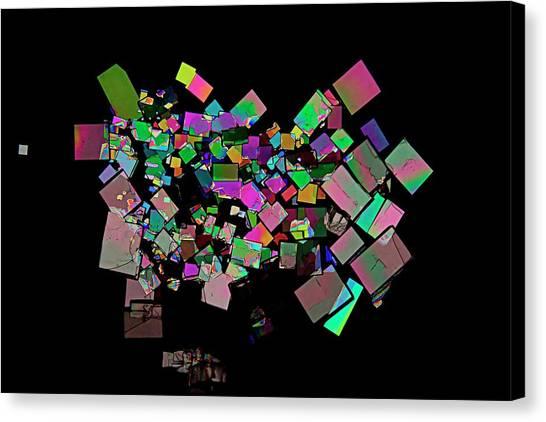 Chronic Canvas Print - Creatinine Crystals by Antonio Romero/science Photo Library