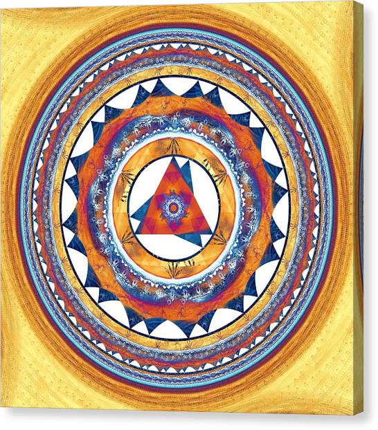 Unconscious Canvas Print - Creative Energy by Anastasiya Malakhova