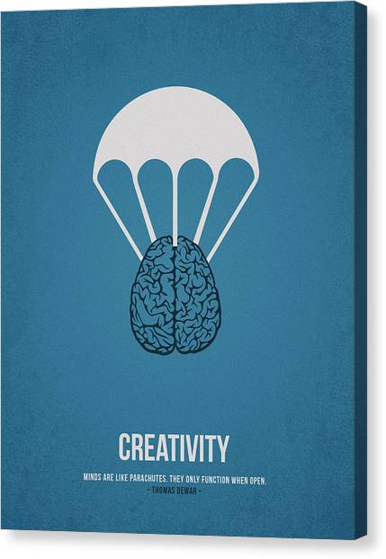 Improve Canvas Print - Creativity by Aged Pixel