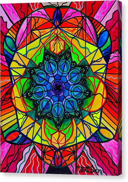 Sacred Canvas Print - Creativity by Teal Eye Print Store