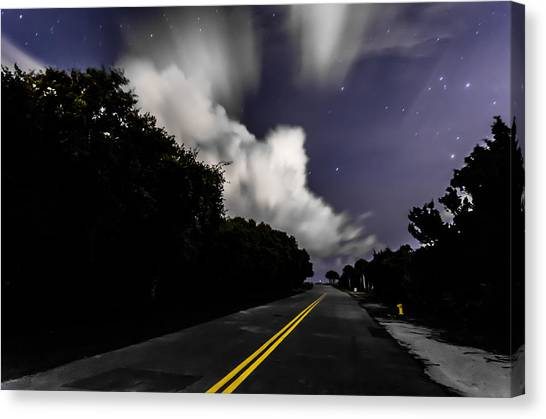 Creeping Clouds Canvas Print