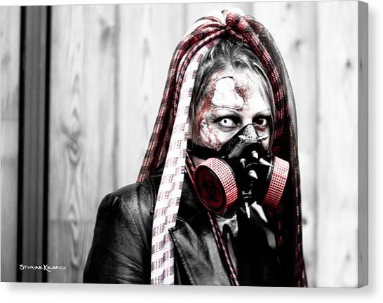 Canvas Print - Creepy Red Vision by Stwayne Keubrick