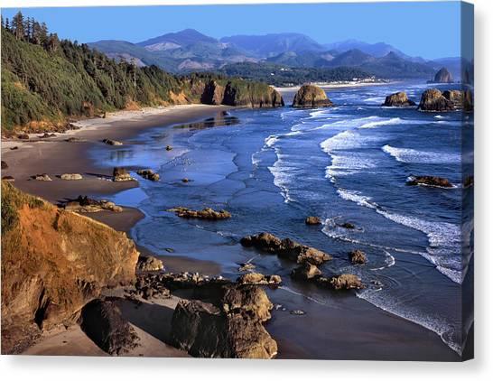 Crescent Beach Oregon Canvas Print