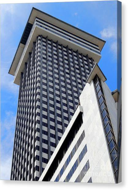 New Orleans Crescent City Towers #2 Canvas Print