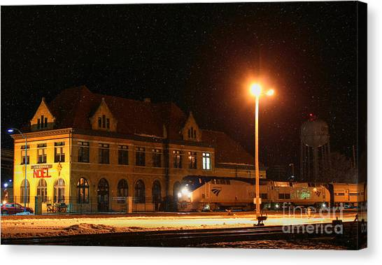 Creston Depot Canvas Print