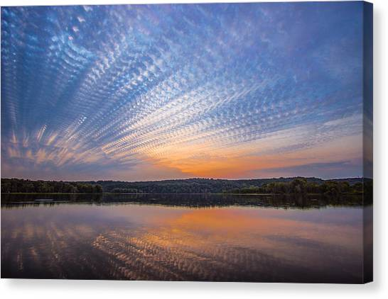 Crochet The Sky Canvas Print
