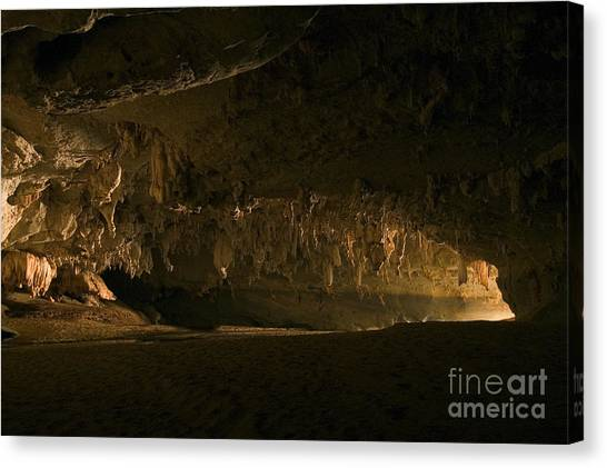Spelunking Canvas Print - Crocodile Cave, Madagascar by Greg Dimijian