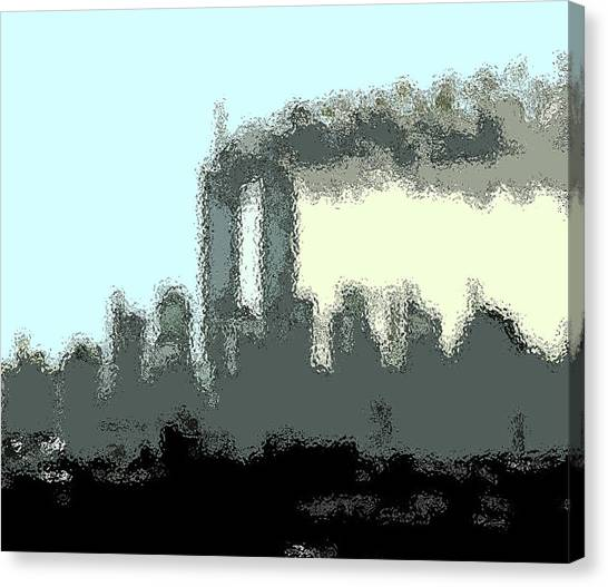 Cropped Distorted View Canvas Print