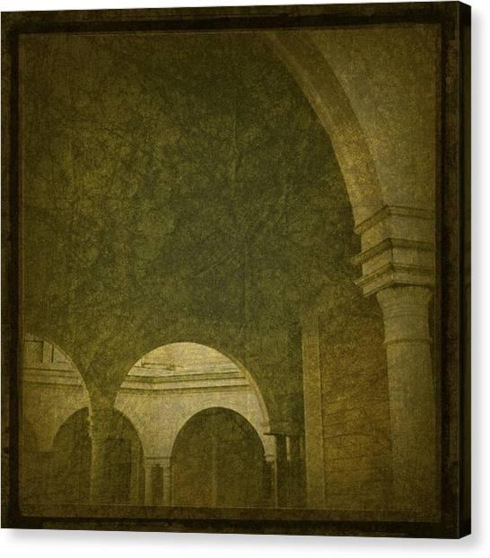 Crosby Mansion Canvas Print