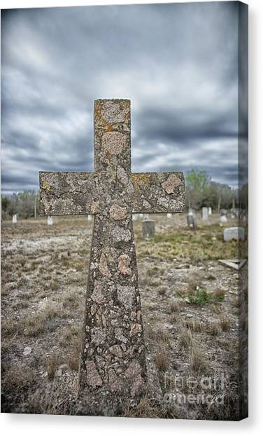 Cross With No Name Canvas Print