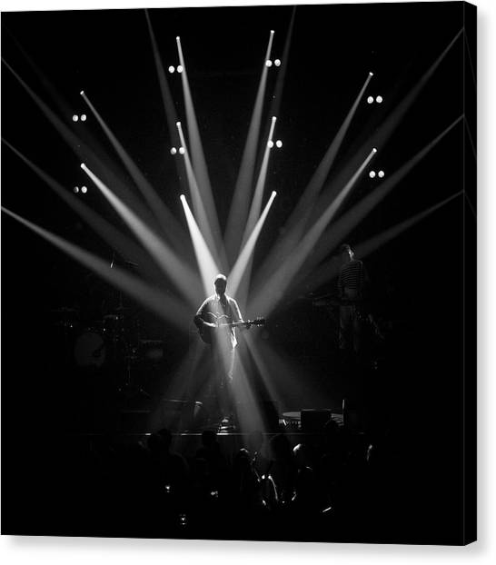 Concerts Canvas Print - Crossfire by Anders Samuelsson