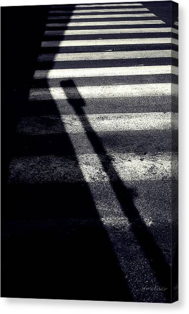 Crossing Guard Canvas Print by Steven Milner