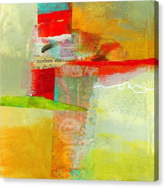 Grid Canvas Print - Crossroads 55 by Jane Davies