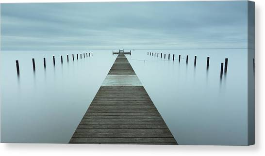 Pier Canvas Print - Crosswalk II by Mats Reslow