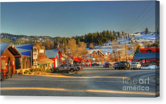 Crouch Main St Canvas Print