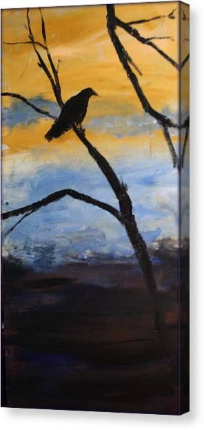 Crow IIi Canvas Print