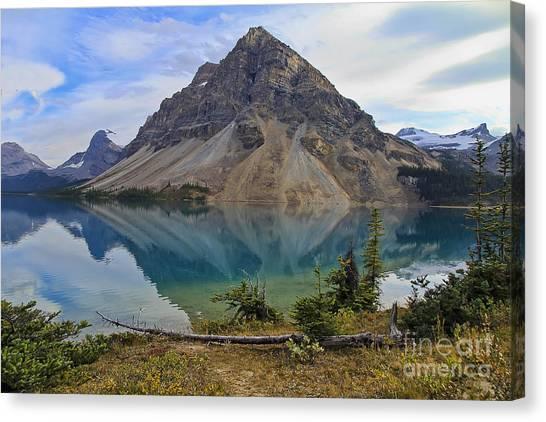 Crowfoot Mountain Banff Np Canvas Print