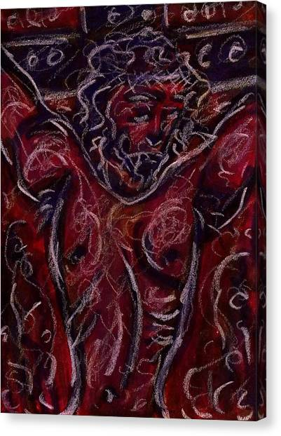 Crucifixion I Canvas Print