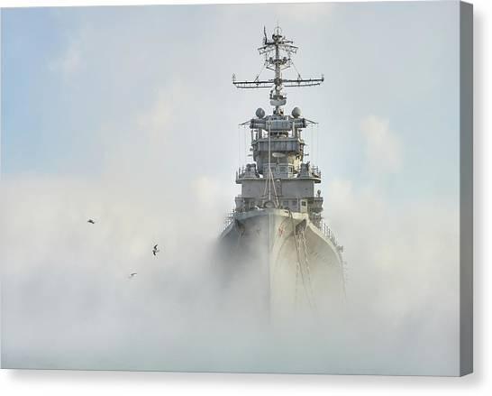 Cold War Canvas Print - Cruiser Ghost by Dmitry Nesvetaylov