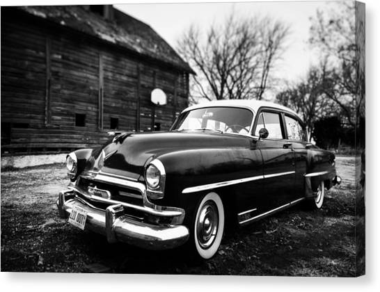 Cruisin' The Farm Canvas Print