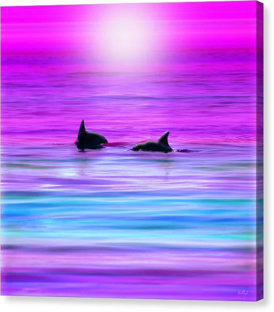 Cruisin' Together Canvas Print